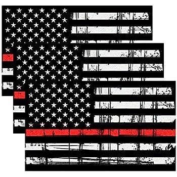 Amazon Com Jmm Industries Firefighter Flag W Axe Amp Emblem