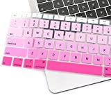 ProElife Pink Gradient Keyboard Cover Ultra Thin