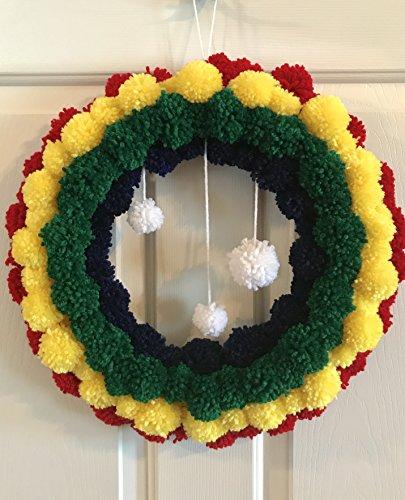 Yarn Wreath - 4