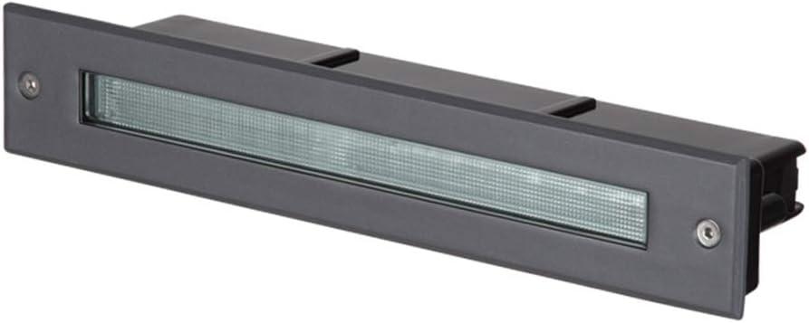 Apliques de Exterior Escaleras lámparas de pie Luces enterradas Luces enterradas al Aire Libre Luces LED enterradas Luces de Paisaje Luces de jardín al Aire Libre Luces de Pared Exterior A+: Amazon.es: