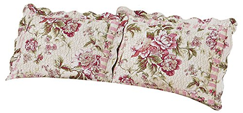 Pretty Peony Floral Pillow Flowers