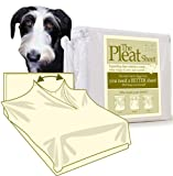 The Pleat Sheet, Size: King Size, Color: Ivory