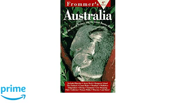 Frommers Australia 2004