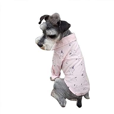 LANSKIRT Ropa para Perros Pequeños Camisa de Estampadas ...