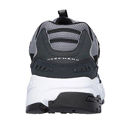 Stamina Gry Low Shoes Cutback Skechers Men's Black Sneaker Nbk Top 57qq84twx