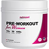 Nutricost Pre-Workout Powder for Women 30 Serv (Strawberry) Review