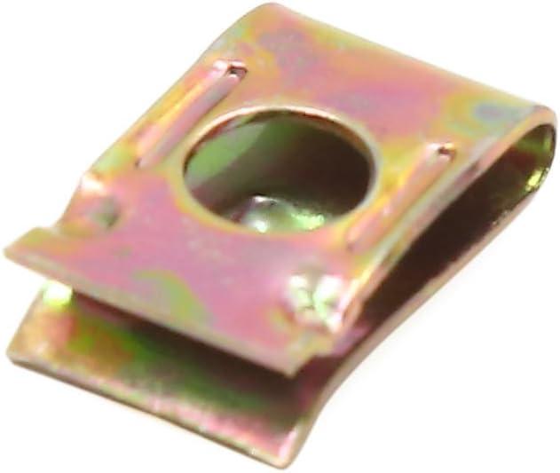 Sourcingmap 197pcs Speed Verschluss U-Muttern Auto Armaturenbrett Panel selbstschneidenden Schraube Clips