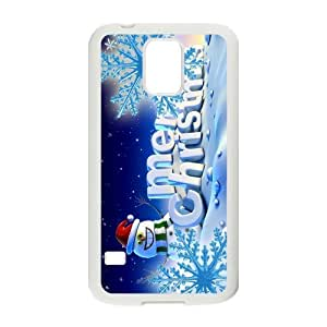 Fashion Christmas snowman Pattern Hard Back Custom Case for Samsung Galaxy S5?