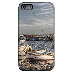 dirt-proof phone cases covers High Quality covers protection iPhone 6 plus 5.5 - wonderful fishing harbor marina hdr