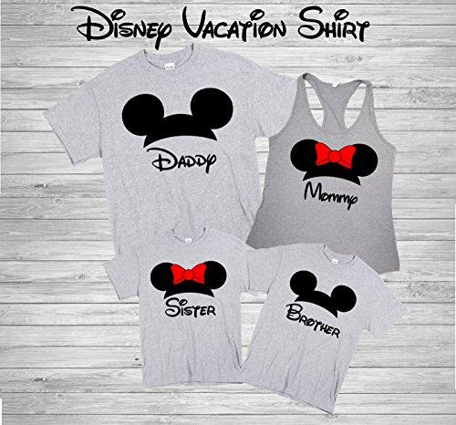 Disney Family Shirts Disney Shirts Disney Family Shirts Mickey Minnie Custom T Shirt Personalized Disney Shirts For Family Shirts Matching D24