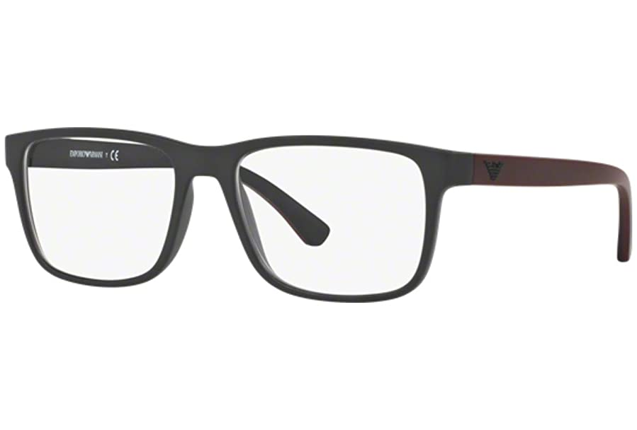 Armani EA3103 Eyeglass Frames 5042-53 - Matte Black at Amazon Men\'s ...