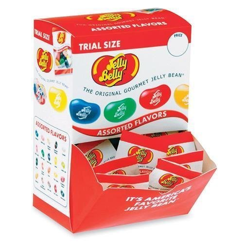 72512 Jelly Belly Trial Size Gourmet Jelly Bean - Assorted -