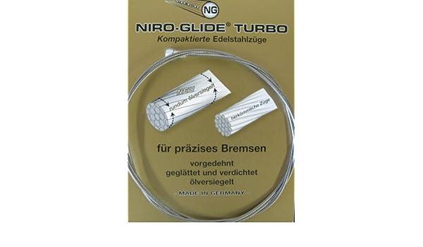 Bremsinnenzug-acero inoxidable, peras pezón 3000 mm lg., 1, 5 mm de diámetro, embalaje individual: Amazon.es: Deportes y aire libre