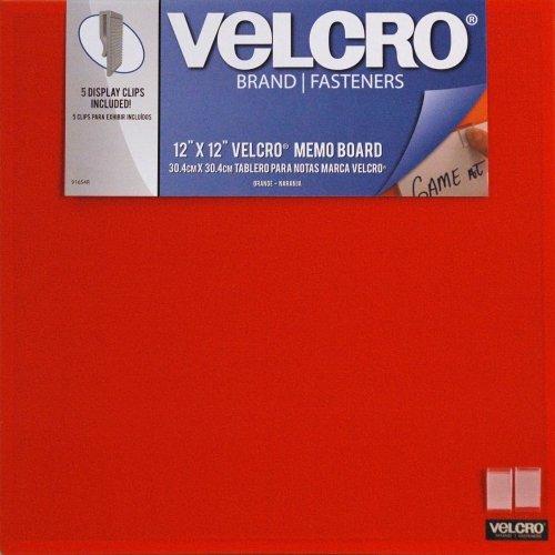 Velcro Inches Bulletin Frameless Orange