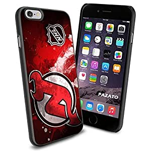 diy zhengNHL HOCKEY New Jersey Devils Logo, Cool Ipod Touch 5 5th Smartphone Case Cover Collector iphone TPU Rubber Case Black