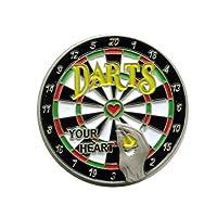 Dartscheibe Dartboard Darts Dart EM WM Metall Button Pin Pins Anstecker 602