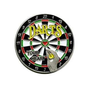 Dartscheibe Dartboard Darts Dart EM WM Metall Button Pin Pins Anstecker 602
