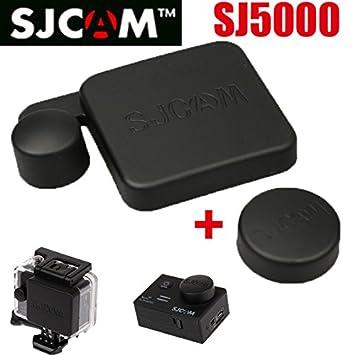 Mu nuevo llegan SJ5000 Tapa de lente Tapa + SJ 5000 Carcasa ...