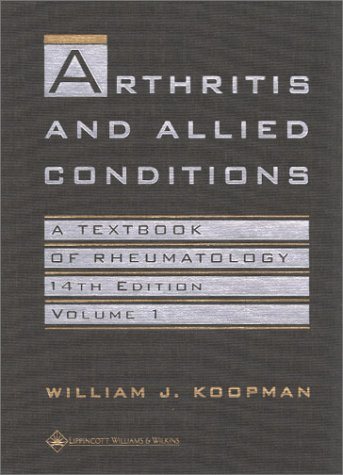 Arthritis and Allied Conditions: A Textbook of Rheumatology (2 Volume Set)
