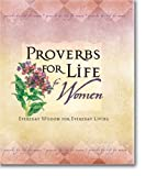 Proverbs for Life for Women, Zondervan Publishing Staff, 0310801788