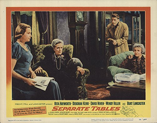 Separate Tables 1958 Authentic 11