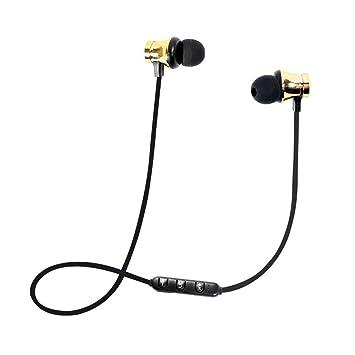 Umiwe Auriculares Bluetooth con Ranura para Tarjeta TF SD ...
