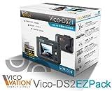 VICO-DS2  EZPackドライブレコーダー/ FULL HD 1080P高画質 エンドレス常時録画型、G-Sensor、手動緊急録画機能搭載.日本語取扱説明書付き