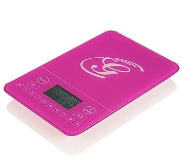 Genius | Báscula de calorías | nutricional de análisis, báscula de dietas, fitness de báscula | bewusste Nutrición | nuevo, rosa: Amazon.es: Hogar