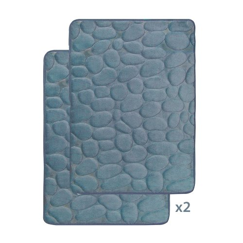 Smoke Blue Memory Foam Set