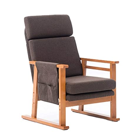 Amazon.com: WF-chairs Silla para El Almuerzo Silla De Casa De Madera ...