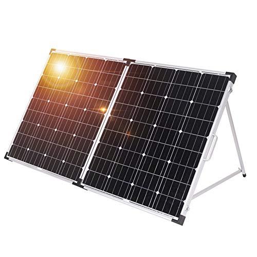 DOKIO 100w(50x2) 12v Monocrystalline Foldable Solar Panel