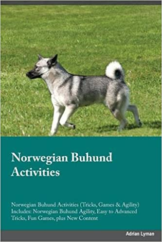Norwegian Buhund Activities Norwegian Buhund Activities Tricks Games Agility Includes Norwegian Buhund Agility Easy To Advanced Tricks Fun Games Plus New Content Coleman Michael 9781526904072 Amazon Com Books
