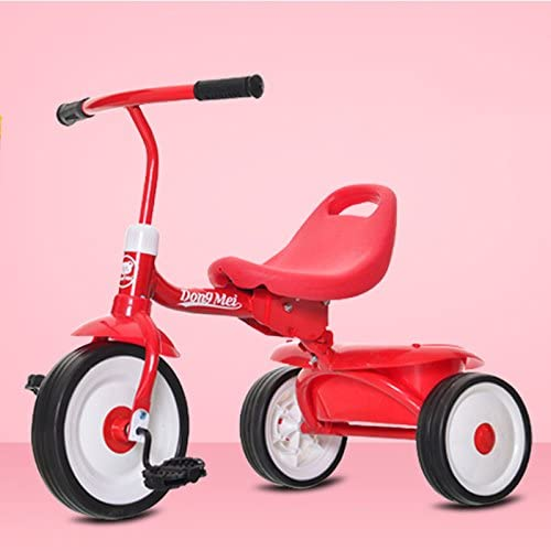 子供の三輪自転車オスとメスの赤ちゃん子供の自転車(1-3歳)ベビーカー