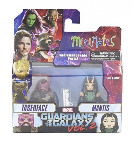 Marvel Minimates Series 71 Guardians of the Galaxy Vol. 2 Taserface & Mantis 2-Pack