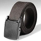Kindes Tactical Adjustable Survival Solid Nylon Outdoor Waist Belt Belts 112 x 3 cm