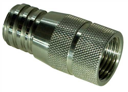 Stainless Steel Adapter For CO2 Paintball Tanks, Can Be Use On Soda Beverage Machine, Save Money On -