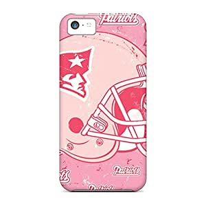 Shockproof Hard Cell-phone Case For Iphone 5c With Custom Trendy New England Patriots Pictures DustinFrench