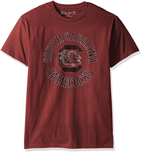 NCAA South Carolina Fighting Gamecocks Men's Victory Vintage Tee, Medium, Garnet (South Carolina Gamecocks Jersey)
