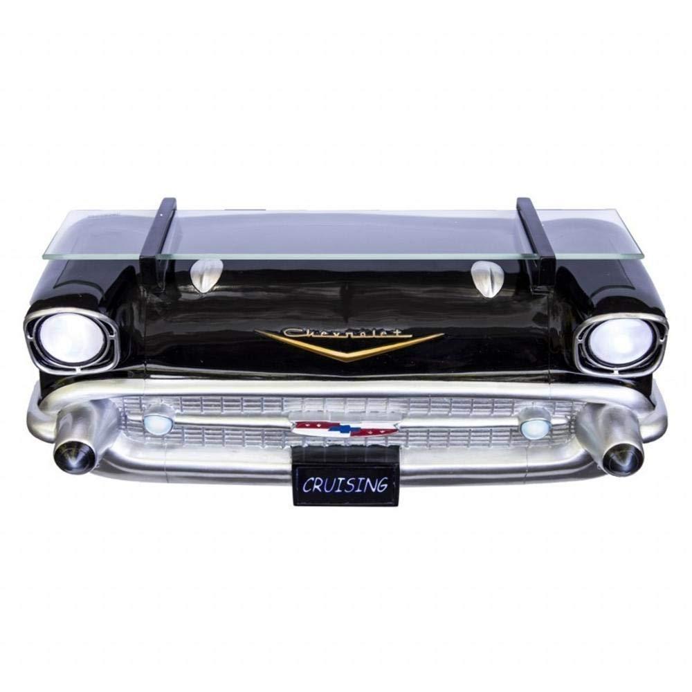 Trendaffe 1957 Chevrolet Bel Air 3D Regal mit Beleuchtung - Chevrolet Bel Air 1957 3D Wandregal