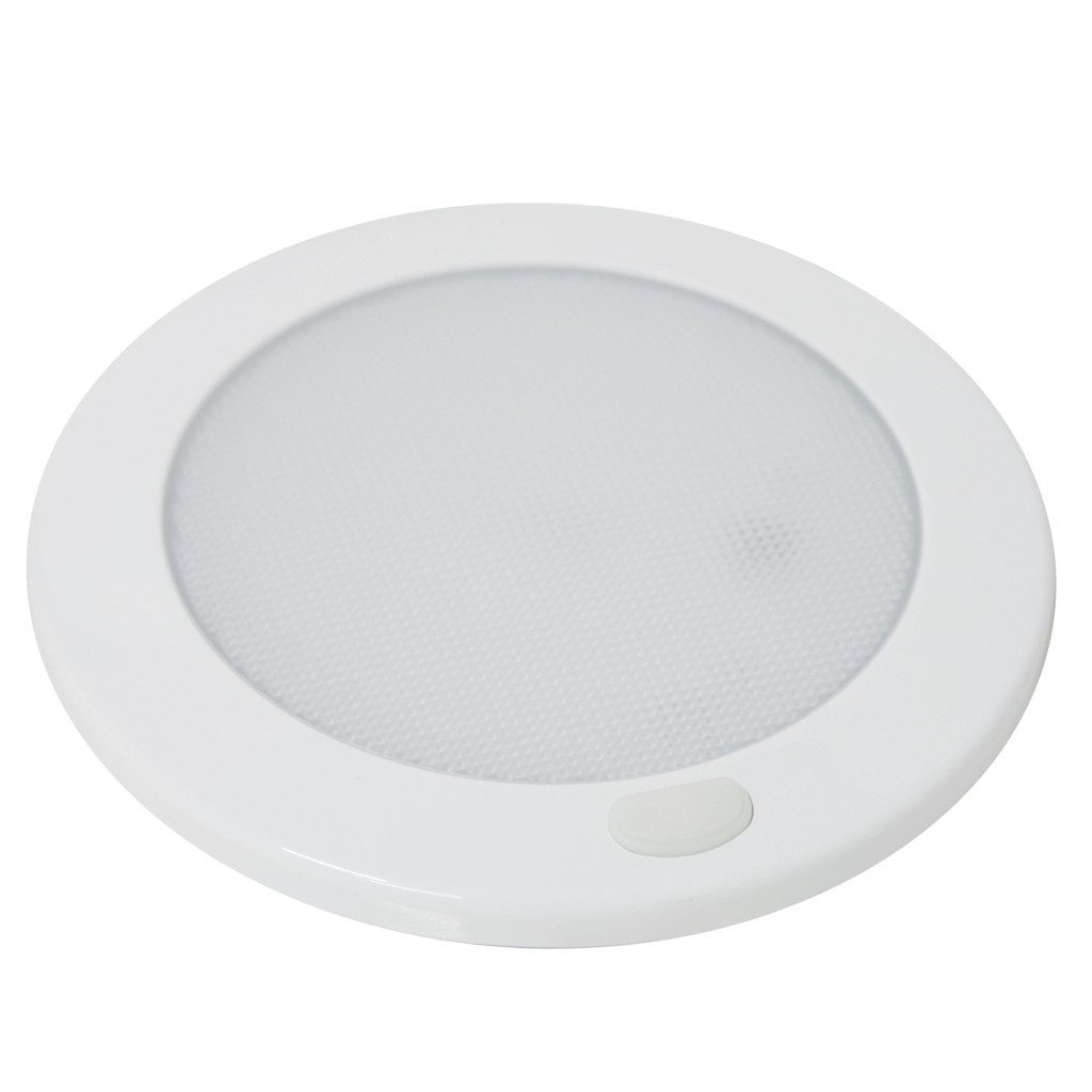 Cool White Dream Lighting 12V 5inches LED Ceiling Dome Lights// Downlights// Under Cabinet Lights with Switch