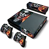 Xbox One Console Skin Decal Sticker The Joker + 2 Controller & Kinect Skins Set