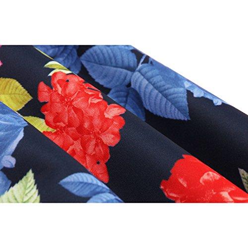 trapecio Blau para mujer Saflor Vestido Dissa Mit TqAwpp