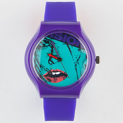VISION STREET WEAR Aggressor Watch, Purple