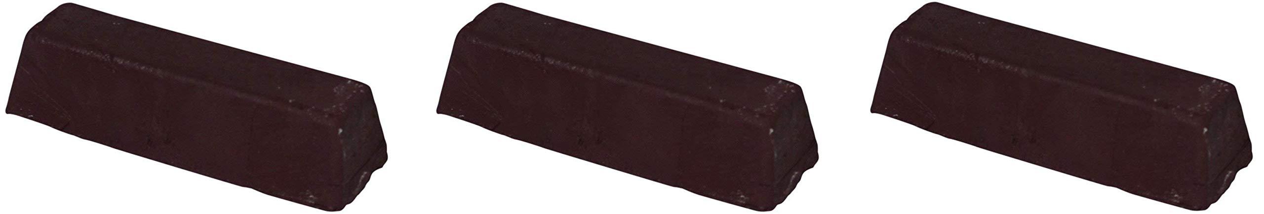 JacksonLea 47351SP Brown Buffing Compound, Grande Bar, 2'' Width x 2'' Height x 9'' Length (Thrее Рack)
