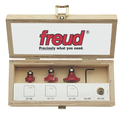 Freud 89-100 3-Piece Round Over and Beading Router