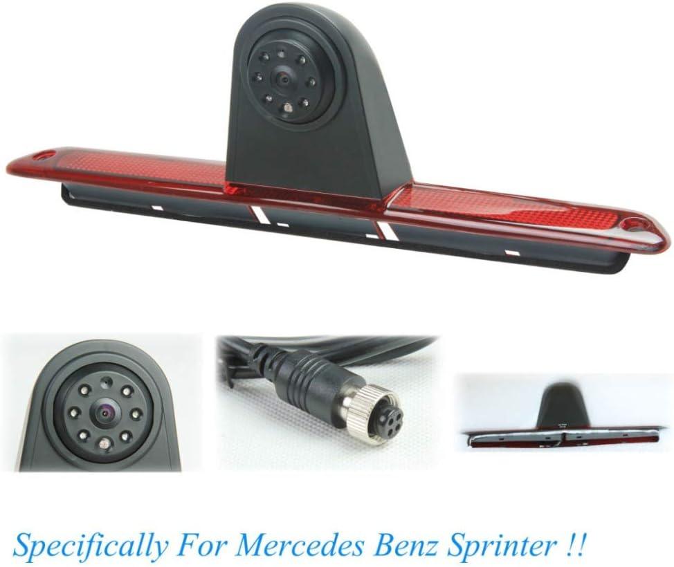 C/ámara de visi/ón Trasera Especial para MB Sprinter//V W Crafter luz de Freno Uso para 2007-2019 Sprinter C/ámara