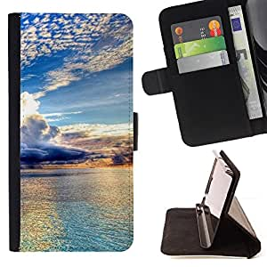 For Sony Xperia Z3 Plus / Z3+ / Sony E6553 (Not Z3),S-type Naturaleza Hermosa Forrest Verde 98- Dibujo PU billetera de cuero Funda Case Caso de la piel de la bolsa protectora