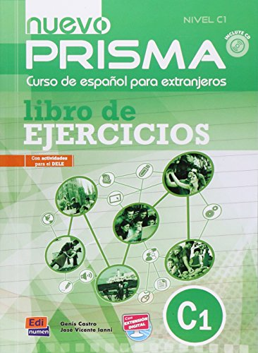 Nuevo Prisma C1 Workbook Plus Eleteca and Audio CD (Spanish Edition)
