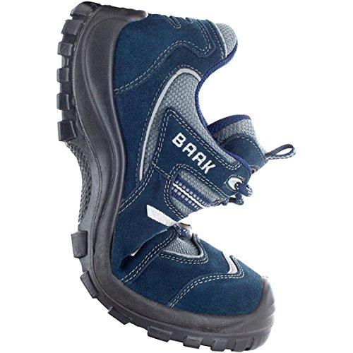 BAAK Sicherheitsschuhe Paul Sports S1P, ESD Halbschuhe, Größe 42, blau, 7003