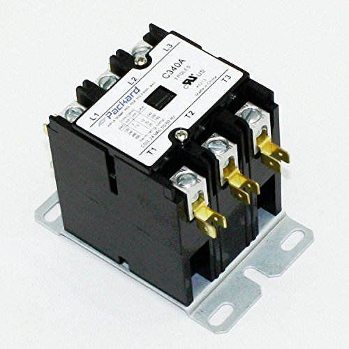 Packard C340A 3 Pole 40 Amp Contactor 24 Volt Coil Contactor by Packard